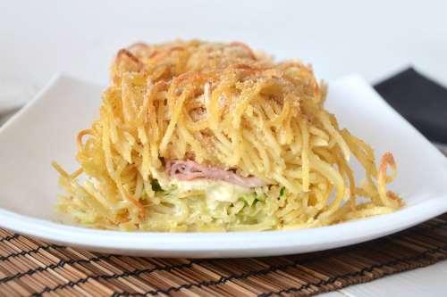 Ricette Pasta Rotolo di spaghetti