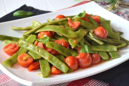 Ricette Vegane Taccole al pomodoro