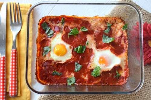 Secondi piatti ricette Uova alla contadina