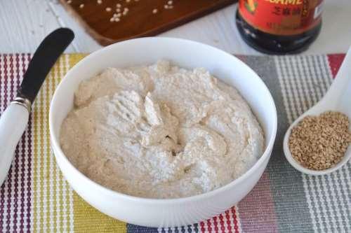 Ricette Vegane Salsa Tahina fatta in casa