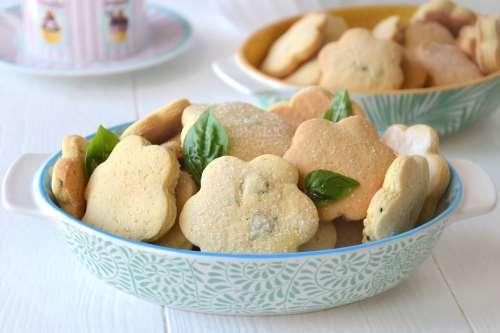 Ricette  Biscotti al basilico