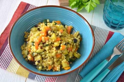 Tutte le Ricette ricette Fregola con verdure