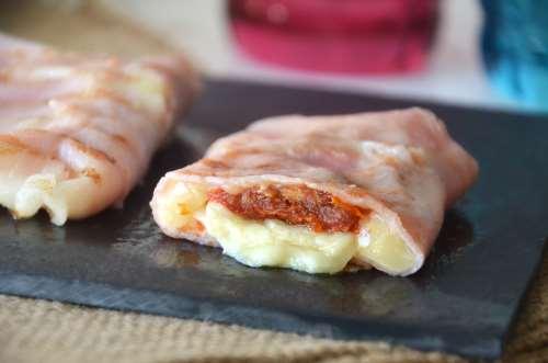 Antipasti ricette Involtini di prosciutto cotto