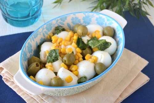 Ricette  Mozzarella marinata