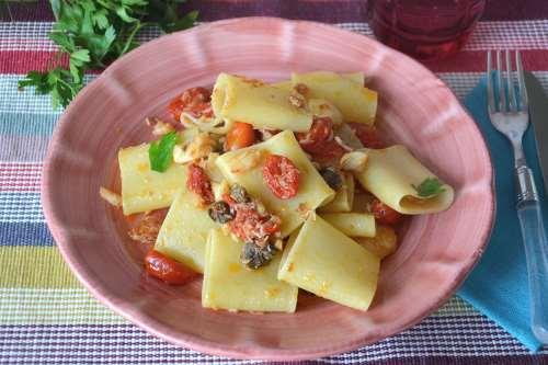 Ricette  Pasta con baccalà
