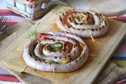 Ricette  Girelle di salsiccia con verdure