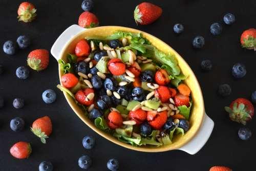 Vegetariane ricette Insalata di frutta