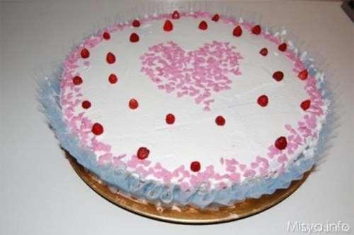 Ricette Ricette Torta panna e fragoline