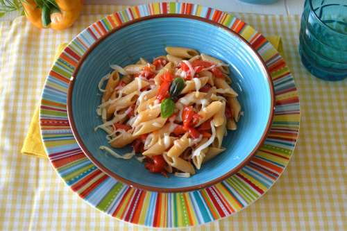 Ricette  Pasta con i peperoni