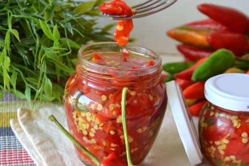 Ricette Conserve Peperoncini sott'olio