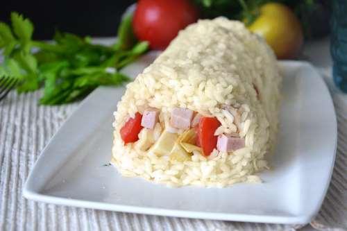 Riso ricette Rotolo di riso freddo