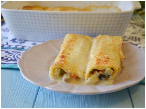 ricette Cannelloni vegetariani