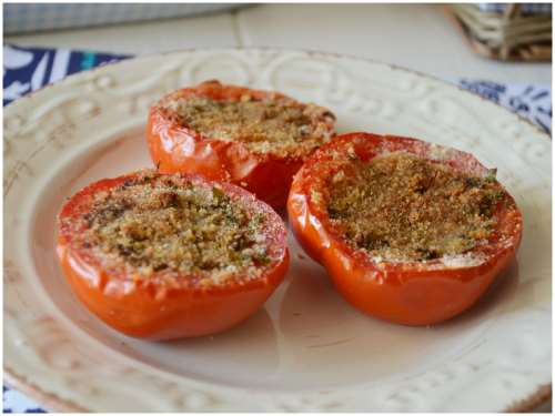 Ricette  Pomodori gratinati