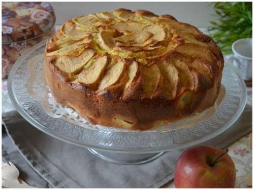 Dolci ricette Torta di mele e crema
