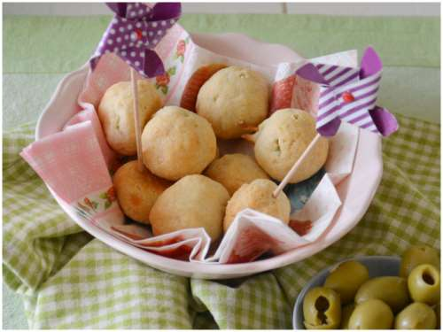 Ricette  Olive in crosta