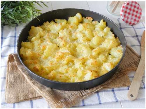 ricette Patate al parmigiano