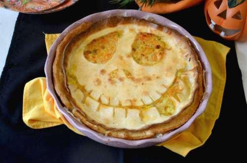 ricette Torta salata di Halloween