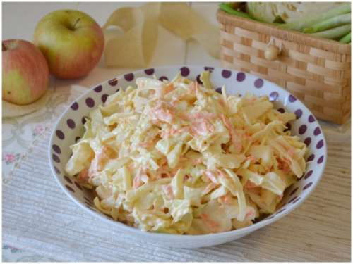 Contorni ricette Coleslaw
