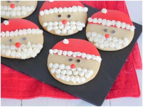 Ricette  Biscotti Babbo Natale