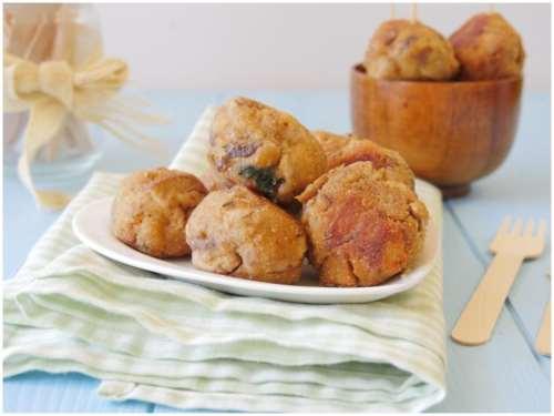 Ricette  Polpette di funghi porcini